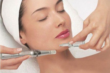 Fraction mesotherapy (microneedling)